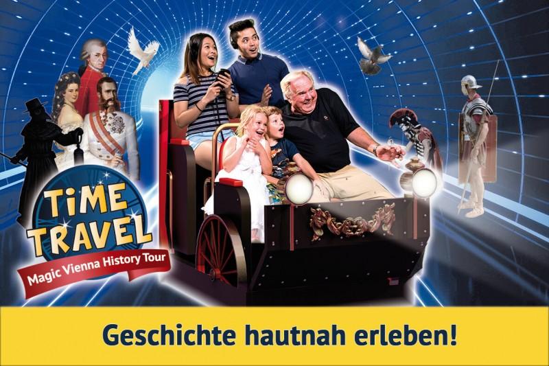 Wir verlosen 3x2 Tickets für das Time Travel Vienna!