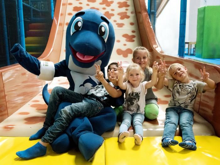 Gewinne eine Geburtstagsparty im Flosse Abenteuerland, dem Indoor Spielplatz des Aldiana Club Ampflwang!