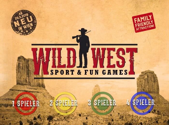 Wir verlosen 1x16 Freispiele für Wild Wild West in Wien!